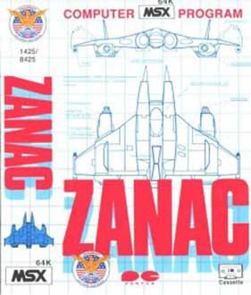 Juego online Zanac (MSX)