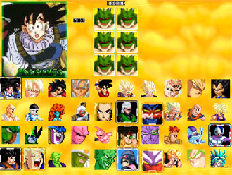 Portada de la descarga de Dragon Ball Z Sagas