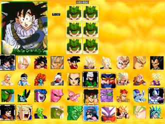 Carátula del juego Dragon Ball Z Sagas (MUGEN)