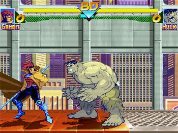 Pantallazo del juego online Marvel Super Heroes (MUGEN)