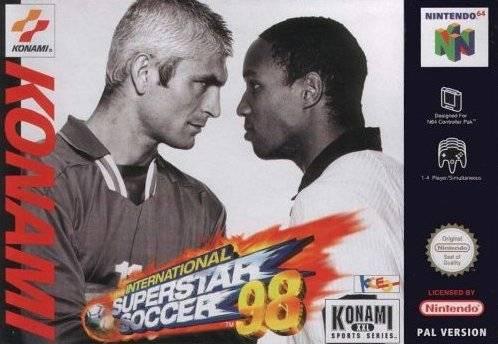 Carátula del juego International Superstar Soccer '98 (N64)