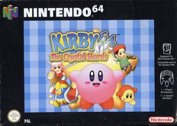 Carátula del juego Kirby 64 - The Crystal Shards (N64)
