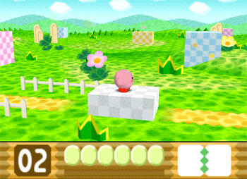 Pantallazo del juego online Kirby 64 - The Crystal Shards (N64)
