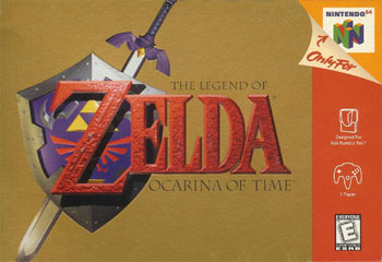 Carátula del juego The Legend of Zelda - Ocarina of Time (N64)