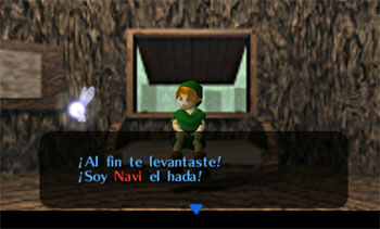 Pantallazo del juego online The Legend of Zelda - Ocarina of Time (N64)