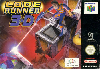 Carátula del juego Lode Runner 3-D (N64)