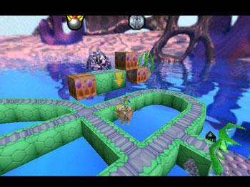 Pantallazo del juego online Lode Runner 3-D (N64)