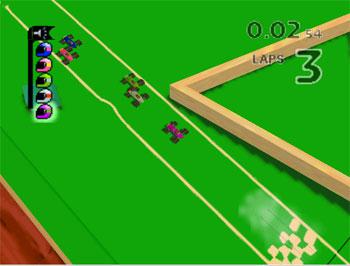 Pantallazo del juego online Micro Machines 64 Turbo (N64)