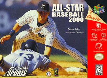 Carátula del juego All-Star Baseball 2000 (N64)