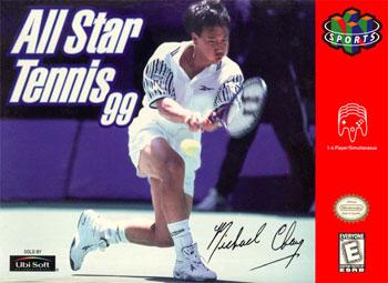 Carátula del juego All Star Tennis 99 (N64)