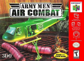 Portada de la descarga de Army Men – Air Combat