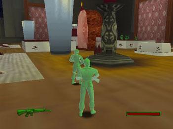 Pantallazo del juego online Army Men - Sarge's Heroes 2 (N64)