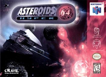 Portada de la descarga de Asteroids Hyper 64