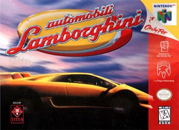 Carátula del juego Automobili Lamborghini (N64)