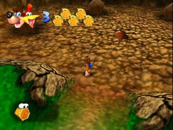 Pantallazo del juego online Banjo-Kazooie (N64)