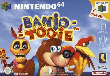 Carátula del juego Banjo-Tooie (N64)