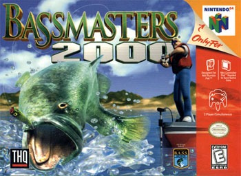 Carátula del juego BASS Masters 2000 (N64)
