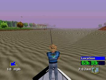 Pantallazo del juego online BASS Masters 2000 (N64)