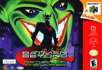 Carátula del juego Batman Beyond - Return of the Joker (N64)