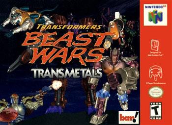Carátula del juego Transformers- Beast Wars - Transmetals (N64)