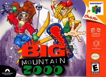 Carátula del juego Big Mountain 2000 (N64)