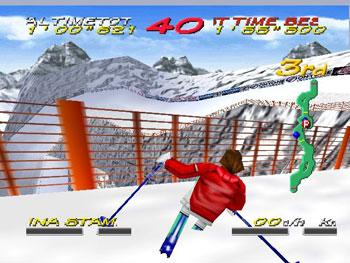 Pantallazo del juego online Big Mountain 2000 (N64)