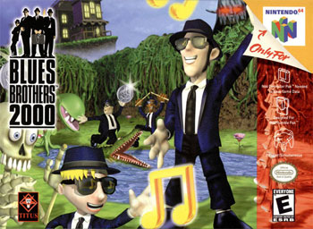 Carátula del juego Blues Brothers 2000 (N64)