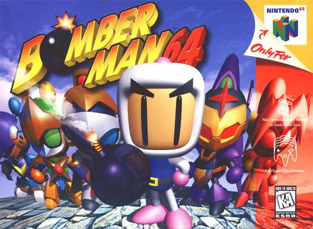 Portada de la descarga de Bomberman 64