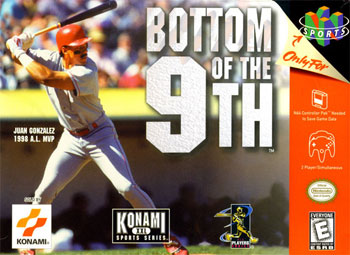 Carátula del juego Bottom of the 9th (N64)