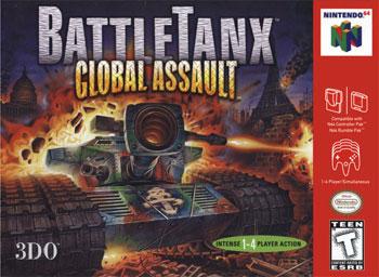 Carátula del juego BattleTanx - Global Assault (N64)
