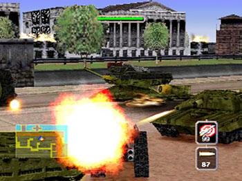 Pantallazo del juego online BattleTanx - Global Assault (N64)