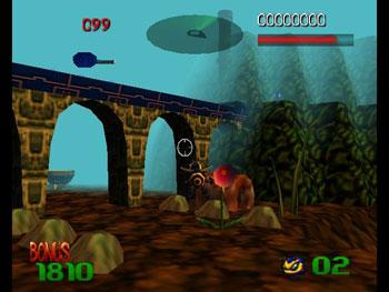 Pantallazo del juego online Buck Bumble (N64)