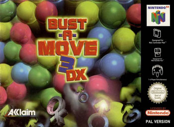 Carátula del juego Bust-A-Move 3 DX (N64)