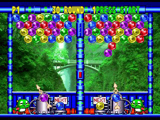 Pantallazo del juego online Bust-A-Move 3 DX (N64)