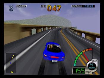 Pantallazo del juego online California Speed (N64)