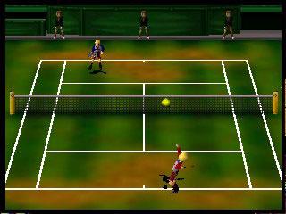 Pantallazo del juego online Centre Court Tennis (N64)