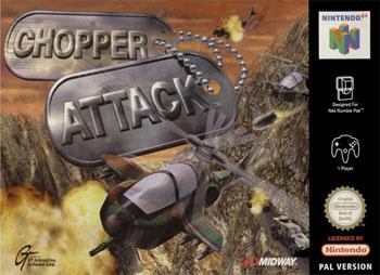 Carátula del juego Chopper Attack (N64)