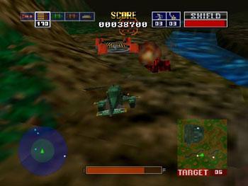 Pantallazo del juego online Chopper Attack (N64)