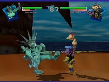 Pantallazo del juego online Clay Fighter 63 1-3 (N64)