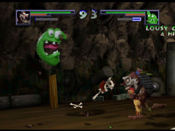 Pantallazo del juego online Clay Fighter Sculptor's Cut (N64)