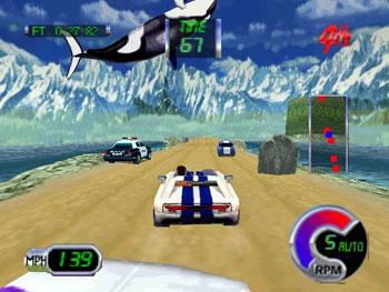Pantallazo del juego online Cruis'n Exotica (N64)