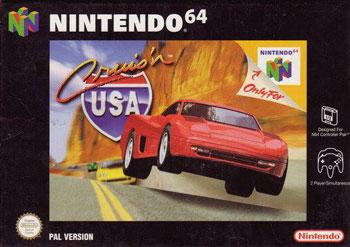 Carátula del juego Cruis'n USA (N64)