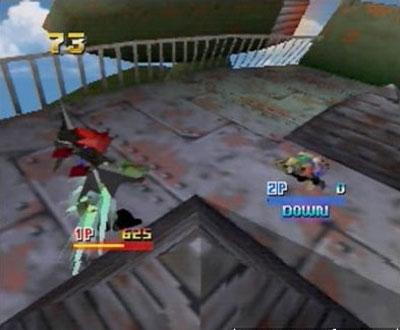 Pantallazo del juego online Custom Robo (N64)