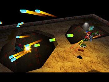 Pantallazo del juego online Custom Robo V2 (N64)
