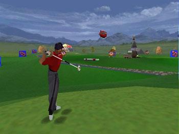 Pantallazo del juego online CyberTiger (N64)