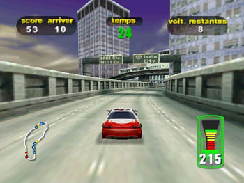 Pantallazo del juego online Destruction Derby 64 (N64)
