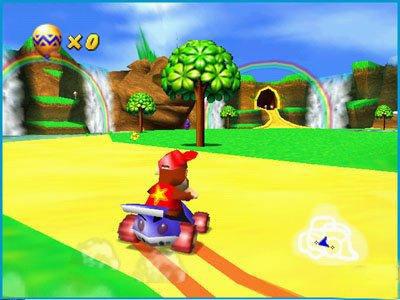 Pantallazo del juego online Diddy Kong Racing (N64)