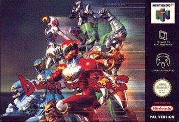 Carátula del juego Dual Heroes (N64)