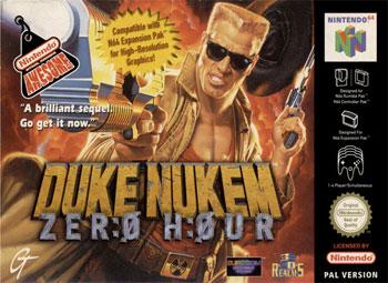 Portada de la descarga de Duke Nukem: Zero Hour