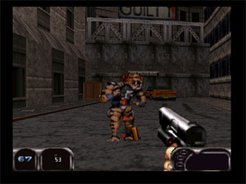 Pantallazo del juego online Duke Nukem 64 (N64)